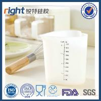 Household tools silicone measuring cup 500 ml Manufactures