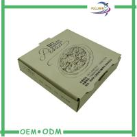 Logo Printed Kraft Paper Box / Corrugated Food Packaging Easy Fold Manufactures