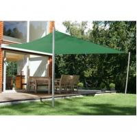 China 4m x 3m Garden Sun Canopy Rectangle Shade Sails Awning Customized on sale