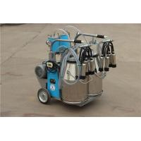 China 9JYT-8 Twin Buckets and Piston Pump Electric motor-driven mobile cow milking machine on sale
