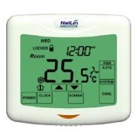 Quality Large Display touch screen Fan Coil Thermostat / 7 Day Programmable Thermostat for sale