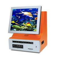 China Cash Acceptor ticketing / photo /card printing Countertop Kiosk / Desktop Kiosks wholesale