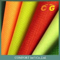 100 Polyester Home Textile Products Colorful Waterproof Oxford Fabric For Outside Manufactures