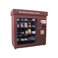 Touch Screen Mini Mart Vending Kiosk Automated Retail Coin Bill Card Operated Manufactures