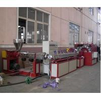China Agriculture Irrigation Plastic Pipe Extrusion Line , Plastic PVC Fiber Pipe Making Machinery wholesale