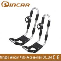 China car Top Mounted Rack Aluminum canoe Kayak Roof Carrier of aluminum frame T rack on sale