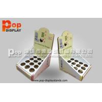 China Holes Lipstick Cardboard Counter Display Stands 12 pcs for Cosmetic wholesale