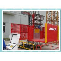 High Performance Construction Material Hoist / Material Lift Elevator Manufactures