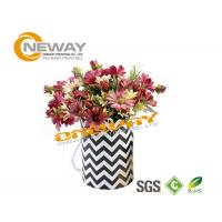 Luxury Rose Delivery Round Flower Paper Box / Personalized Gift Boxes Manufactures