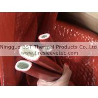 self-extinguishing high temperature silicone rubber Jacketed Fiberglas Sleeving Manufactures