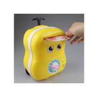 China Lovey Electric Smart Money Saving Box Trolley With Music For Kids Cartoon Style on sale