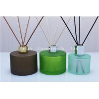 decoration design reed diffuser bottle with silver lid for wholesale Manufactures