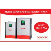 Hybrid On / off grid solar inverter 2kva 2000w with 80A MPPT Controller Manufactures