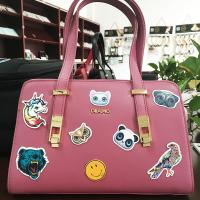Removable Embossed Pu Leather Luggage Bags Labels / Tags / Stickers Patches Manufactures