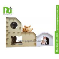 China Customized Printing Cardboard Kids Toys Cat , Dog house /playhouse on sale