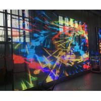 China Large P10 Transparent LED Video Wall , Glass Advertising LED Display Screen wholesale