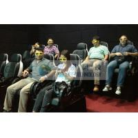 Folded comfortable 3D movie theater chairs , Movie theater furniture for kids cinema Manufactures