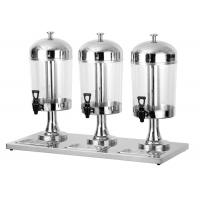 China 8L Per Tank Catering Buffet Equipment  Ice - Cold Style Stainless Steel Drink Dispenser wholesale