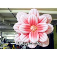 China 3m Hanging Inflatable Flower for Exhibition and Stage Decoration wholesale