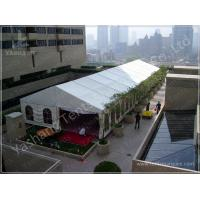 White Aluminum Structure Outdoor Party Tents 300 Sqm Amazing Wedding Marquees