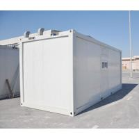 Prefabricated Container House / Prefabricated Steel Buildings With Toilet Easy Install Manufactures