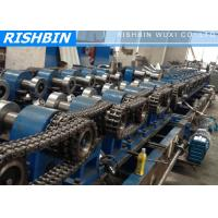 Buy cheap Galvanized Steel Z Purlin Roll Forming Machine Hydraulic Punching from wholesalers