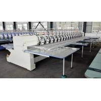 18 Heads Computer Sewing Machine Embroidery , Multi Needle Home Embroidery Machine Manufactures