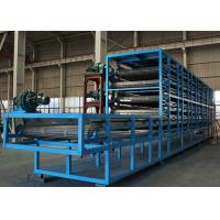 China Full-automatic intelligent control steel structure mesh belt drying machine on sale