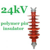 IEC 61952 Standard Polymer Pin Insulator 24kV for Overhead Distribution Lines Manufactures