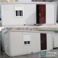 China Sandwich Panel prefab shipping container homes Prefabricated for dormitory wholesale