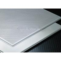 China Soundproof  and Fireproof Aluminum Lay In Ceiling Tiles for drop ceiling on sale