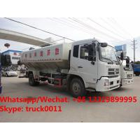 Buy cheap 2018s high quality and best price Euro 5 Dongfeng tianjin 4*2 LHD 10tons-12tons animal feed delivery truck for sale from wholesalers