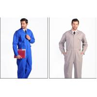 China Anti - Static Flame Retardant Insulated Coveralls Oil Resistant For Gas Station wholesale