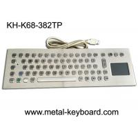 China Computer Industrial Keyboard with Touchpad , 70 Keys Waterproof Keyboard With Touchpad wholesale