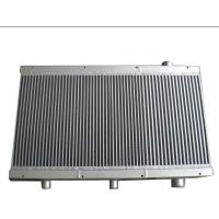 China Plate Fin Heat Exchanger Structure , Air Compressor Cooler with 0-50 Deg Ambient Temp on sale