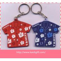Handmade 3d soft pvc Tshirt key holders Manufactures