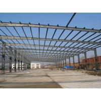 China Pre engineered commercial structural steel frame construction building steel beam braking wholesale