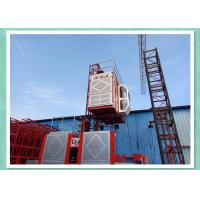 High Speed Building Rack & Pinion Hoist , Construction Site Elevator Manufactures