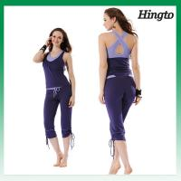 Womens Workout Clothes Hot Yoga Clothes Fitness Clothing Sexy Clothes Workout Wear Manufactures