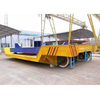 China Customized steel ladle transfer carts on rail with electric scale and screen made in china wholesale