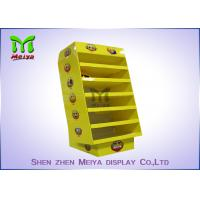 Point Of Sale Corrugated Cardboard Display Wine Drink Display Case Of Flat or Accembly Packing Manufactures