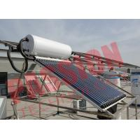 China 6 Bar Heat Pipe Solar Water Heater Pressurized SUS304 Stainless Steel on sale