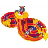 Huge Commerical Adult Inflatable Bouncer Obstacle Course For Backyard Manufactures
