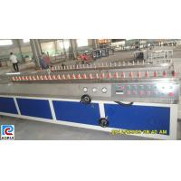 China PP / PE Wall Board Plastic Profile Extrusion Line , PE Profile Extrusion Machinery wholesale