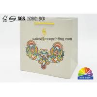 Matt Laminated Elegant Paper Gift Bag With Chinese Characteristics Manufactures
