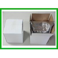 China Thermal Resistant Cardboard Box Liner Pack Material Air bubble Pack Insulation For Shipping on sale