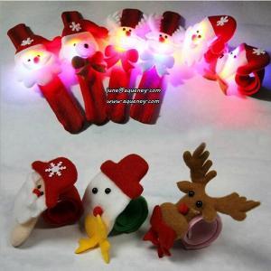 China Xmas gift Christmas slap wristband as a Christmas gift on sale