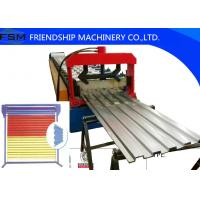 18.5kw Power Stell Door Shelf Panel Roll Forming Machinery 1250mm Coil Width Manufactures
