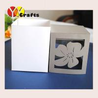 China Wedding Gift Boxescardboard cookie gift boxes laser cut jewelry gift boxes unique wedding gift boxes on sale