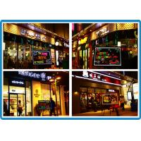 Buy cheap Easy erase coffee shops LED Writing Boards high-brightness from wholesalers